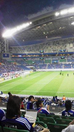 埼玉スタジアムで初観戦!